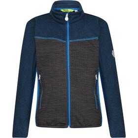 Regatta Oberon III Soft Shell jakke Børn, grå/blå
